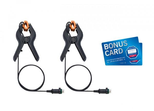 Zangen-Temperaturfühler-Set (NTC) - für digitale Monteurhilfen + BONUS CARDS