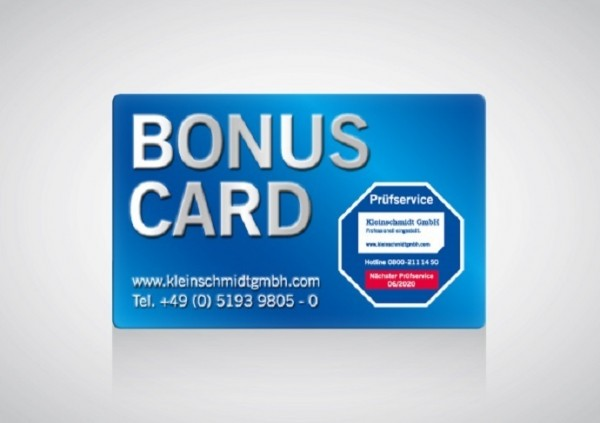 BONUS CARD Staubmessgerät Full-Service
