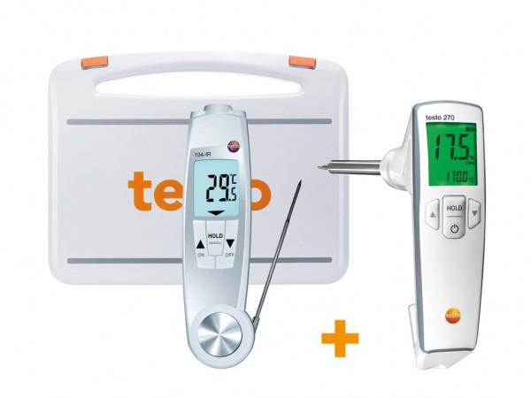 Testo Frittieröl-Temperatur Set