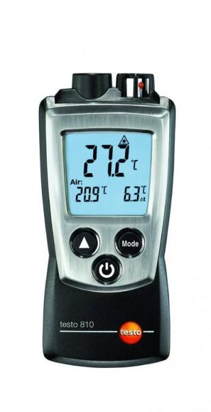 testo 810 Infrarot-Temperatur- Messgerät