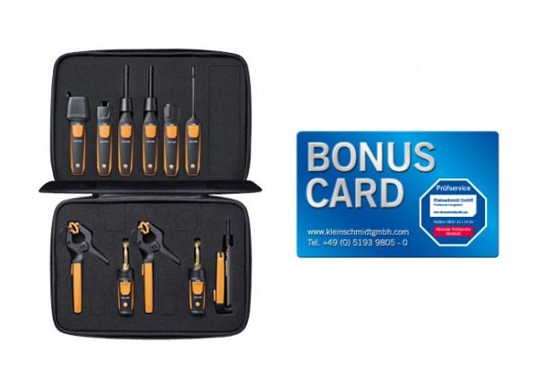 testo Smart Probes Komplett-Set BONUS CARD
