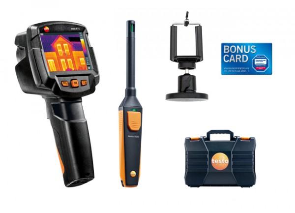 testo smartes Schimmel-Set testo 872 + Smartphonehalter & BONUS CARD