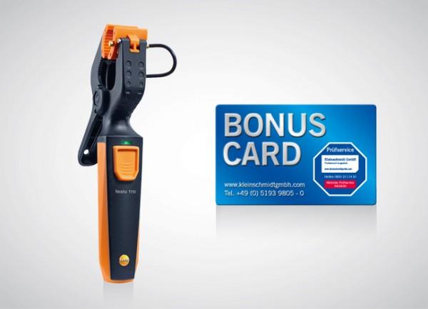 testo 115i Zangenthermometer + BONUS CARD