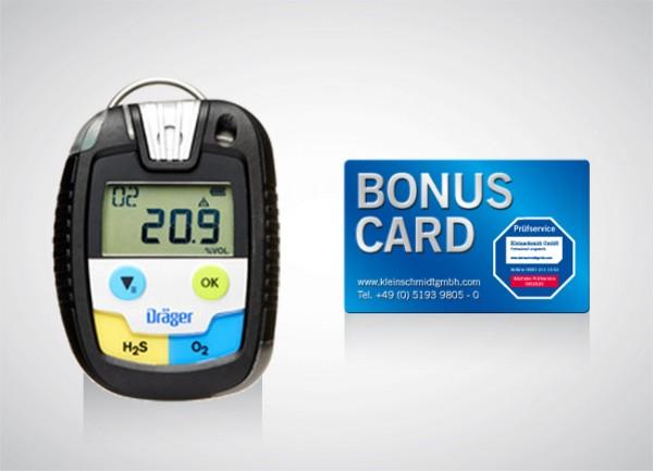 Dräger Pac® 8500 H2S LC /O2 + BONUS CARD