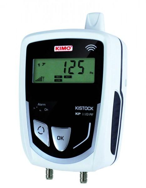 KIMO KP 110-IO-RF Funkdatenlogger für Differenzdruck