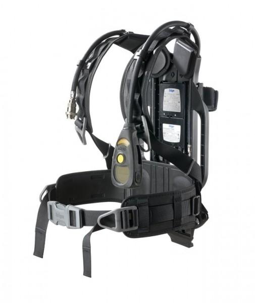 Dräger PSS 5000 DP mit Einzelflaschenspannband, BG 7000, Safety Belt