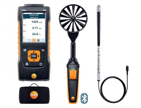 testo 440 Strömungs-Kombi Set 2 mit Bluetooth®