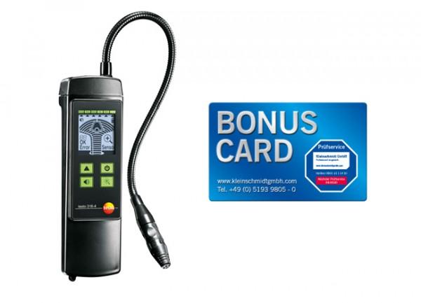 testo 316-4 Set Leckage-Detektor für Kältemittel mit BONUS CARD