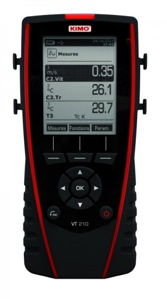 KIMO Anemometer-Hygrometer-Thermometer - VT 210