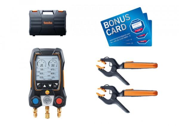 testo 550s Smart Set BONUS CARDs