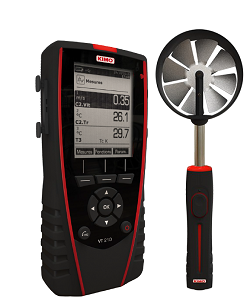 KIMO Anemometer-Hygrometer-Thermometer - VT 210 L