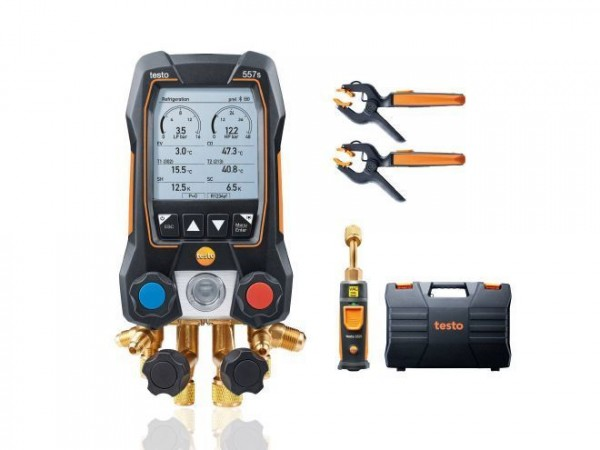 Monteurhilfe testo 557s Smart Vakuum Set