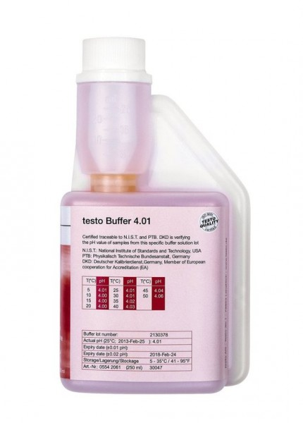 testo pH Pufferlösung 4,01