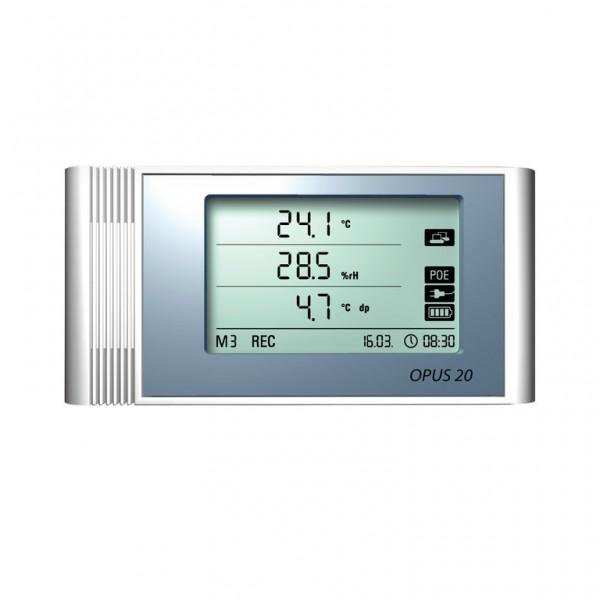 Dostmann OPUS 20 THIP Datenlogger f. Temperatur, Feuchte und Luftdruck