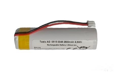Ersatzakku Testo 320 3,7 V/ 2400 mAh