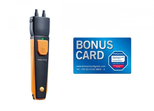 testo 510i Differenzdruckmessgerät + BONUS CARD