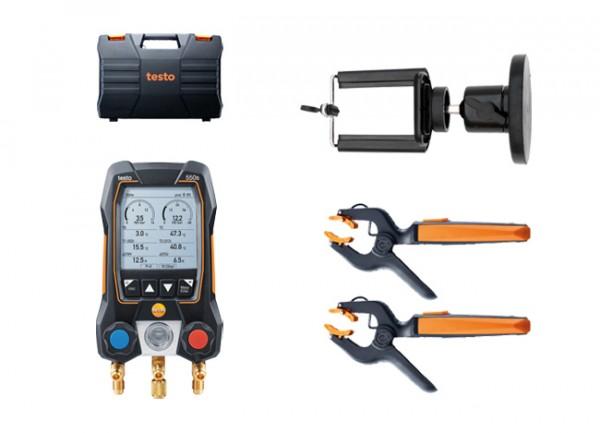 testo 550s Smart Set + Magnet-Smartphonehalter