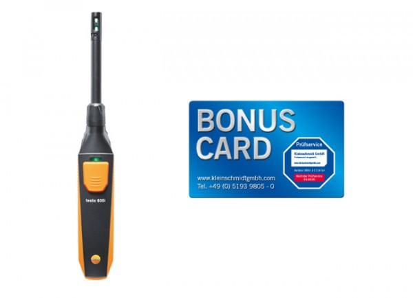 testo 605i Thermo-Hygrometer + BONUS CARD