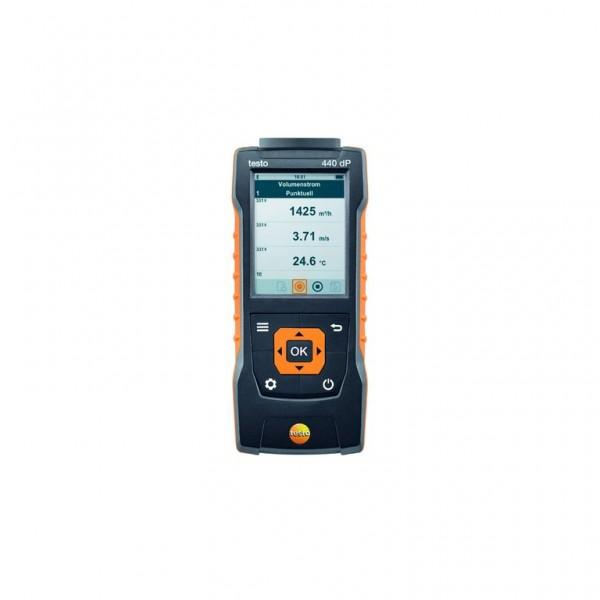 testo 440 dP - Klimamessgerät inkl. Differenzdrucksensor