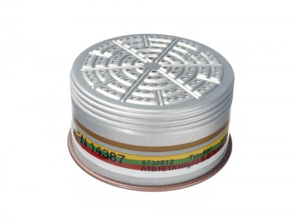 Dräger Kombi-Filter 990 A1B1E1K1 Hg P3 R D