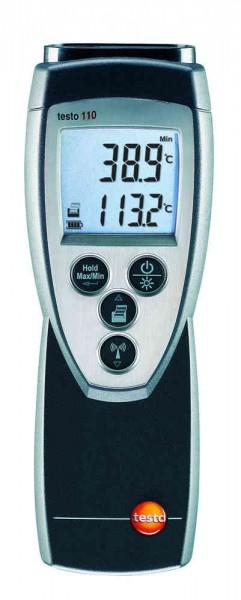 testo 110 - 1-Kanal-Thermometer NTC