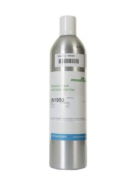 Prüfgas 34 l Flasche 100 ppm Iso-Butylen in Luft