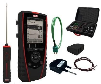KIMO TM 210 Set für U-Wert Messung