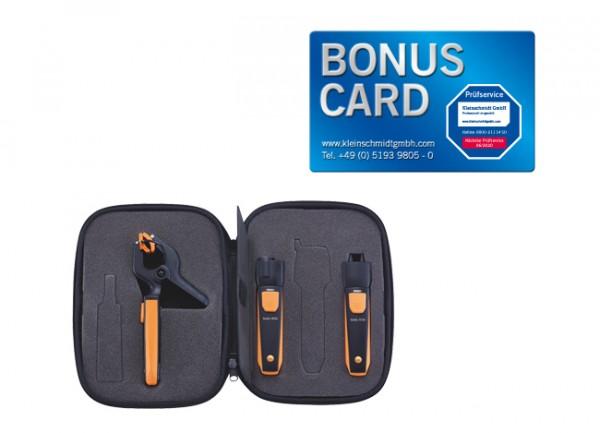 testo Smart Probes Heizungs-Set BONUS CARD