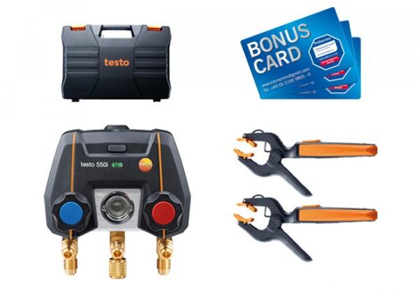 testo 550i Smart Set BONUS CARDs