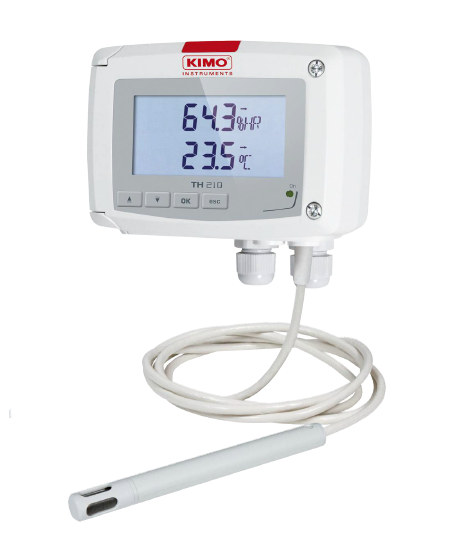 Temperatur-/Feuchtetransmitter - Serie TH 210 - TH210-BODP/300
