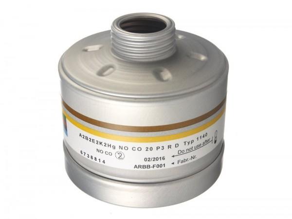 Dräger Filter 1140 ABEK2 HgNo/CO P3 R D