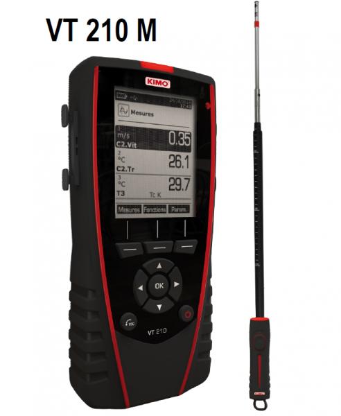 KIMO Anemometer-Hygrometer-Thermometer - VT 210 M