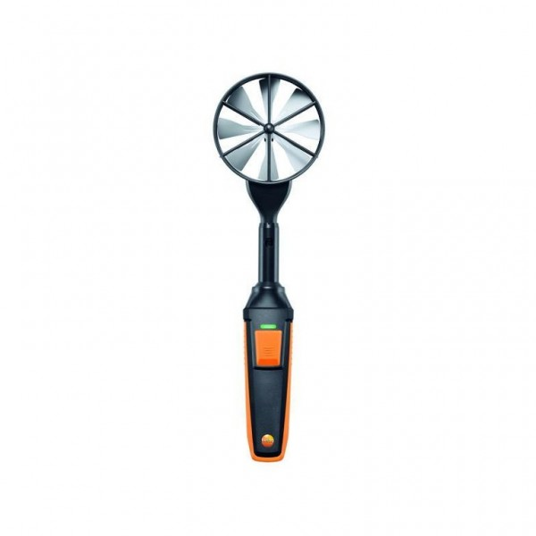 Hochpräzise Flügelrad-Sonde (Ø 100 mm, digital) - mit Bluetooth® inkl. Temperatursensor