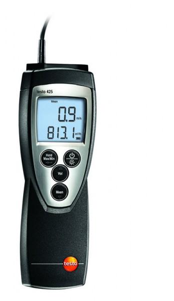 testo 425 -Thermisches Anemometer-fest angeschlossene Strömungssonde
