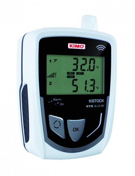 KIMO KTR 310-RF Funkdatenlogger für Temperatur