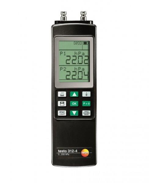 testo 312-4 - Differenzdruckmessgerät