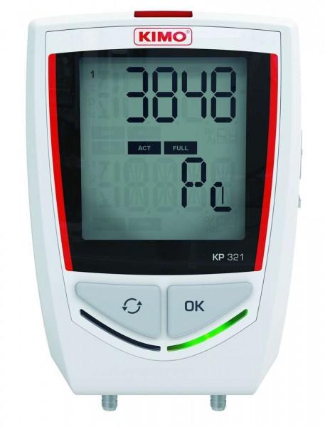 KIMO KP-321 Datenlogger für Differenzdruck