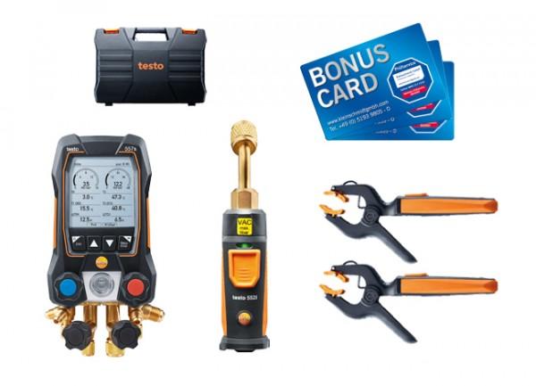 testo 557s Smart Vakuum Set BONUS CARDs