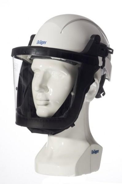 Dräger X-plore 8000 Helm mit Visier, weiß