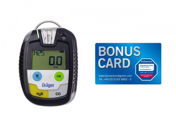 Dräger Pac® 8500 H2S/CO + BONUS CARD