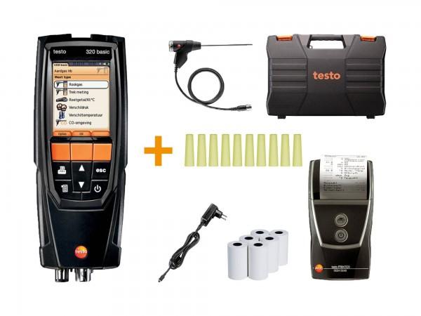 Abgasmessgerät testo 320 basic Einsteiger-Set