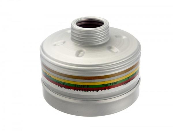 Dräger Kombi-Filter 1140 A2B2E2K1 Hg P3 R D
