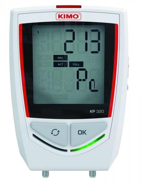 KIMO KP-320 Datenlogger für Differenzdruck