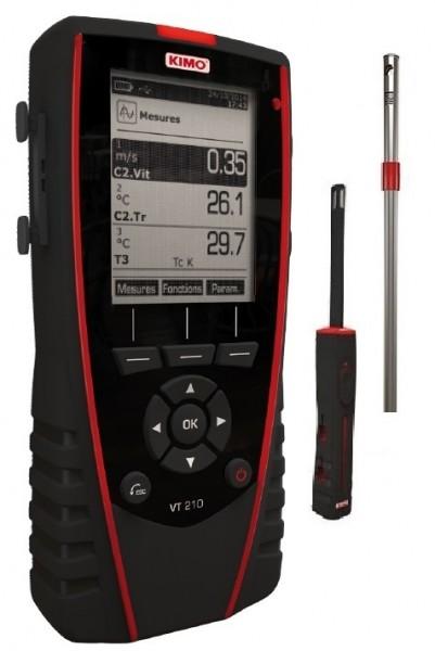 Mietgerät KIMO Thermo-Anemo-Hygrometer VT 210
