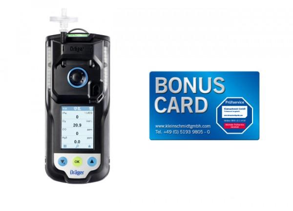 Dräger X-am 3500 Ex, O2, CO LC + BONUS CARD