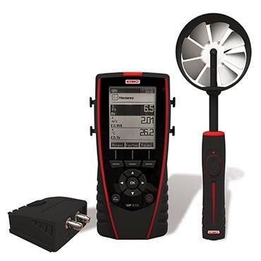 Mietgerät KIMO Thermo-Anemo-Manometer MP 210