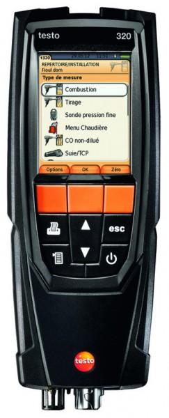 testo 320 basic Abgas-Analysegerät
