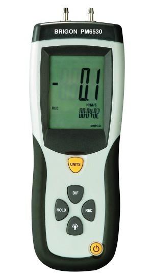BRIGON PM 6530 Differenzdruckmessgerät
