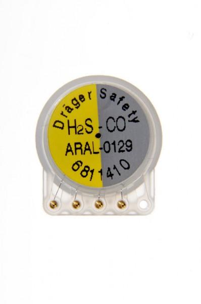 Dualer Dräger Sensor XXS H2S / CO - 0-200 ppm H2S / 0-2000 ppm CO