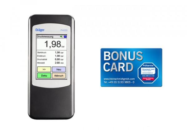 Messpaket Dräger P4000 25 bar + BONUS CARD